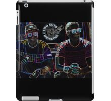 Two Guys in Crazy Neon iPad Case/Skin