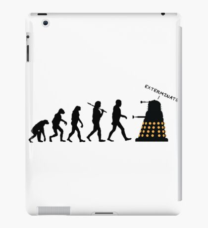 "Doctor Who Evolution - Dalek ""EXTERMINATE"" iPad Case/Skin"