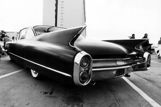 Fins, Chrome and Suede Black Paint by Rees Adams