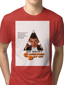 Alex Bueller's Clockwork Day Off Tri-blend T-Shirt