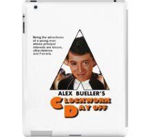 Alex Bueller's Clockwork Day Off iPad Case/Skin
