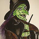 Old Witch by Kamila  Krizova/Aitchison