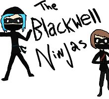 Max and Chloe: The Blackwell Ninjas by BlueVixenDesign