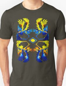 Microraptor Patterns Unisex T-Shirt
