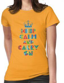 Keep Calm Carry On - on lights T-Shirt