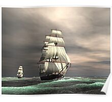 Sun on the Sails Poster