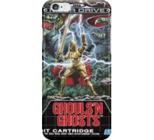 Ghouls n' Ghosts Mega Drive Cover iPhone Case/Skin