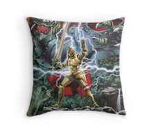 Ghouls n' Ghosts Mega Drive Cover Throw Pillow