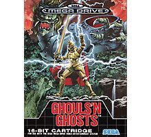 Ghouls n' Ghosts Mega Drive Cover Photographic Print