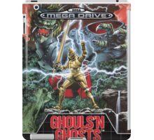 Ghouls n' Ghosts Mega Drive Cover iPad Case/Skin