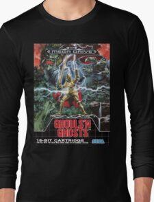 Ghouls n' Ghosts Mega Drive Cover Long Sleeve T-Shirt