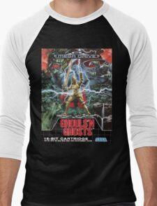 Ghouls n' Ghosts Mega Drive Cover Men's Baseball ¾ T-Shirt