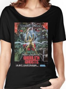 Ghouls n' Ghosts Mega Drive Cover Women's Relaxed Fit T-Shirt