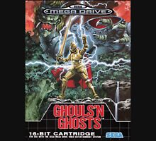 Ghouls n' Ghosts Mega Drive Cover Unisex T-Shirt