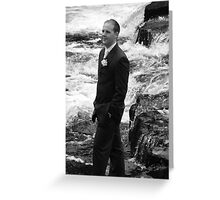 Rocky River  Groom Greeting Card