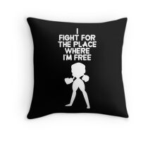 Steven Universe - Garnet - Extended Opening - (White) Throw Pillow