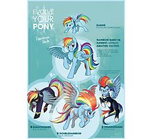 EYP Rainbow Dash Photographic Print