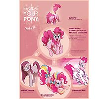 EYP Pinkie Pie Photographic Print