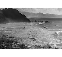 Offshore Rocks in the Pacific Photographic Print