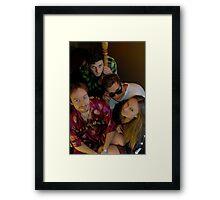 Cast of misfits Framed Print