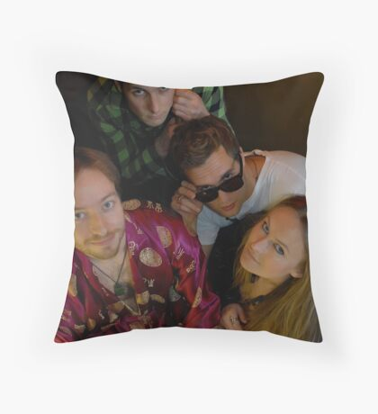 Cast of misfits Throw Pillow