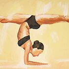 Elbow Stand by Rachelle Dyer