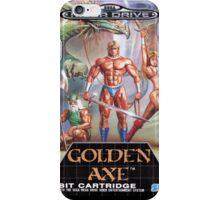 Golden Axe Mega Drive Cover iPhone Case/Skin
