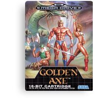 Golden Axe Mega Drive Cover Canvas Print