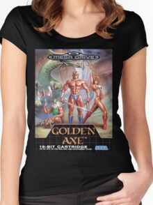 Golden Axe Mega Drive Cover Women's Fitted Scoop T-Shirt