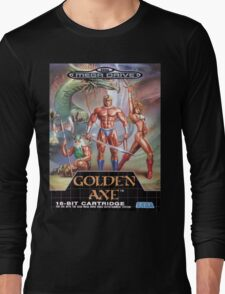 Golden Axe Mega Drive Cover Long Sleeve T-Shirt