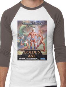 Golden Axe Mega Drive Cover Men's Baseball ¾ T-Shirt
