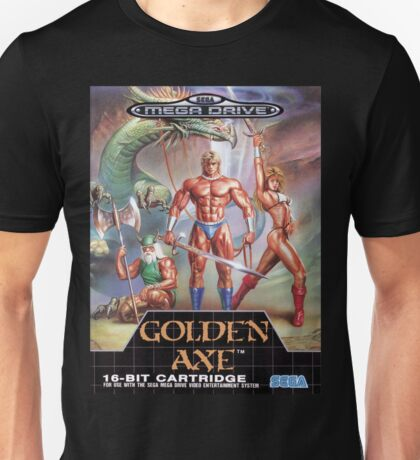 Golden Axe Mega Drive Cover Unisex T-Shirt