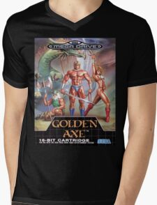 Golden Axe Mega Drive Cover Mens V-Neck T-Shirt