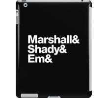 Eminem Marshall Mathers Slim Shady Helvetica Gear iPad Case/Skin