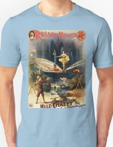 Poster 1890s Rossow Midgets Mlle Chalet the bounding queen performance poster 1897 T-Shirt