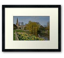 Brompton by Sawdon Framed Print