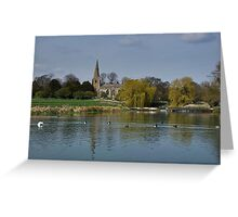 Scenic Village Greeting Card