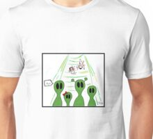 Aliens on the mission Unisex T-Shirt