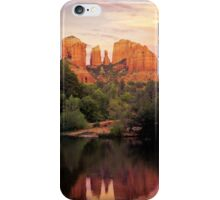 CATHEDRAL IN RED iPhone Case/Skin