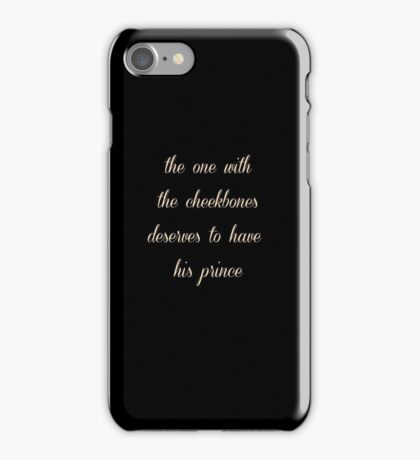Larry Reference Print  iPhone Case/Skin