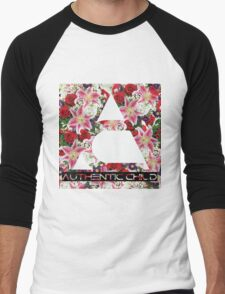 Floral  Men's Baseball ¾ T-Shirt