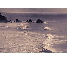 Volcanic outcrops off the Pacific Coast 1 - ST Photographic Print