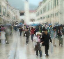 Dubrovnik Rain by Blake Steele
