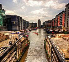 Clarence Dock Leeds by taffspoon