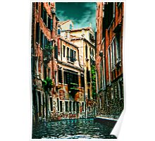 *The Quiet Canal, Venice* Poster