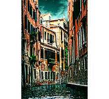 *The Quiet Canal, Venice* Photographic Print
