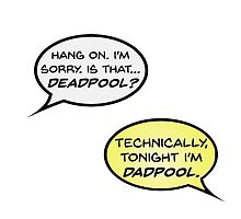 Hawkeye Vs Deadpool-- Dadpool by izzinet