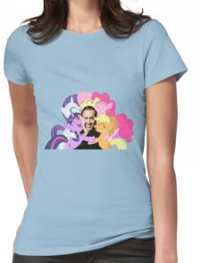 Nic and His Girls Womens Fitted T-Shirt