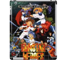 Gunstar Heroes Mega Drive Cover iPad Case/Skin