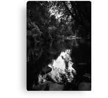 Remember Road Trips Oregon Historical River 431 Canvas Print
